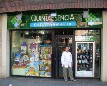 Parafarmacia Quintaesencia en Bilbao - Pais Vasco